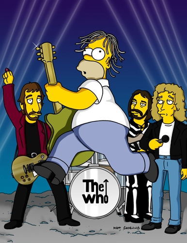 The Simpsons - The Who
