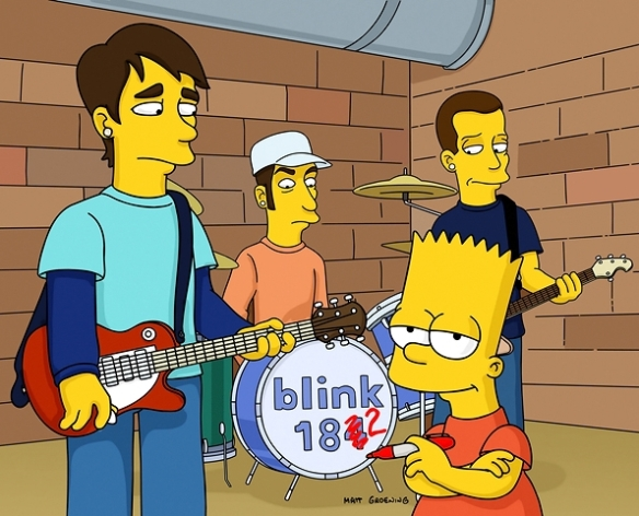 The Simpsons - Blink 182