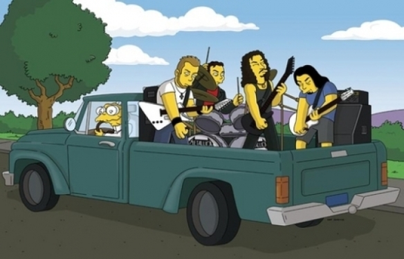 The Simpsons - Metallica