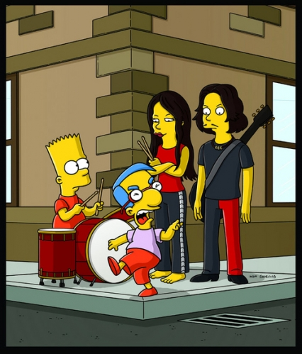 The Simpsons - The White Stripes