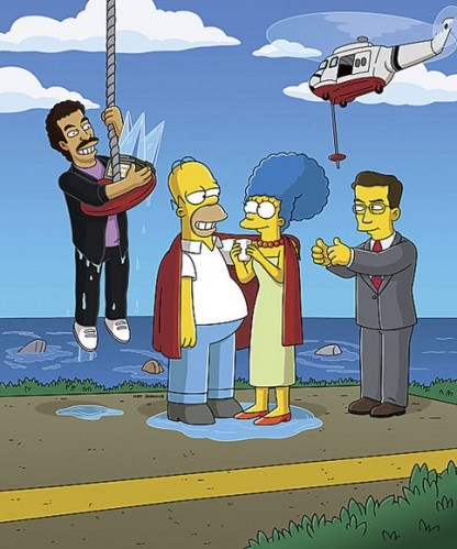 The Simpsons - Lionel Richie