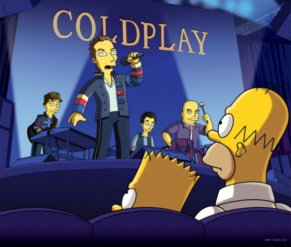 The Simpsons - Coldplay