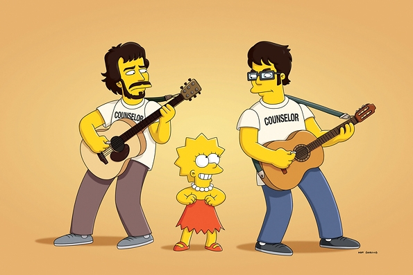 The Simpsons - Flight Of The Conchords