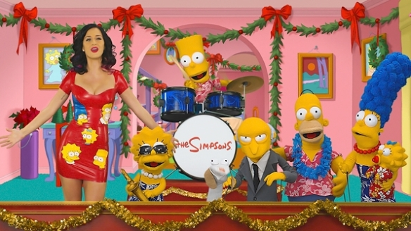 The Simpsons - Katy Perry