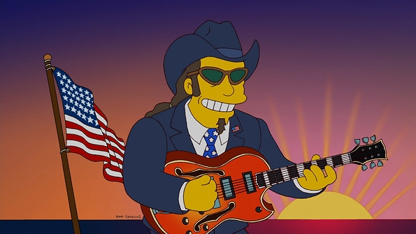 The Simpsons - Ted Nugent