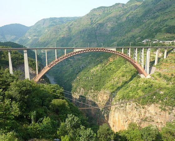 As 20 pontes mais altas do mundo 11