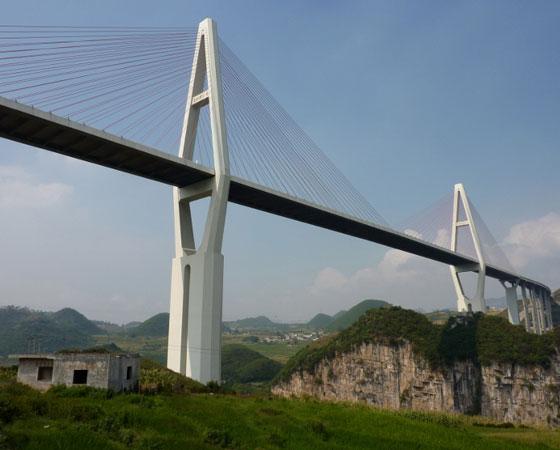 As 20 pontes mais altas do mundo 20