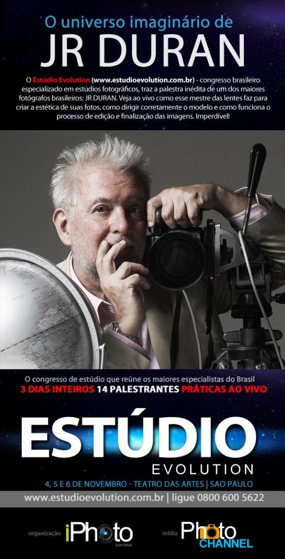 iPhoto Editora apresenta a palestra com JR Duran no Estúdio Evolution 2013