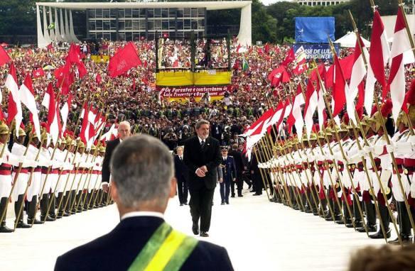 Posse do presidente Lula em 2013