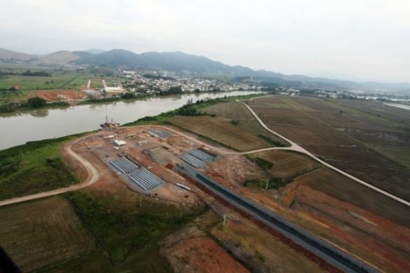 Governo do Estado repassa R$ 3 milhões ao município de Ilhota - Governador Colombo visita obras da Ponte de Ilhota. Fotos de James Tavares da SECOM (3)