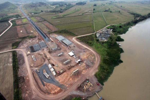 Governo do Estado repassa R$ 3 milhões ao município de Ilhota - Governador Colombo visita obras da Ponte de Ilhota. Fotos de James Tavares da SECOM