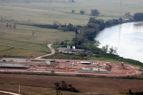 Governo do Estado repassa R$ 3 milhões ao município de Ilhota - Governador Colombo visita obras da Ponte de Ilhota. Fotos de James Tavares da SECOM (9)