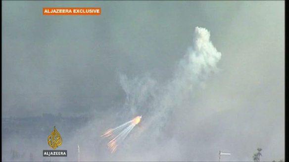 Israel ataca população palestina com Fósforo Branco