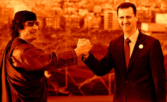 Kadafi e Assad