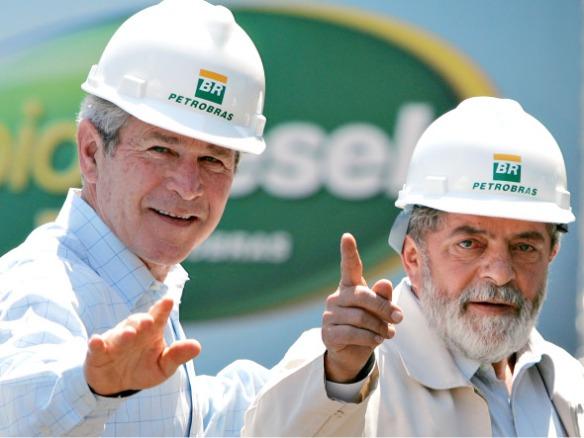 Lula e Bush lobistas