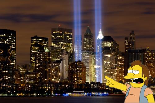 Nelson e o 11 de setembro