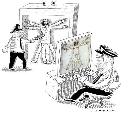 Scanners de aeroportos