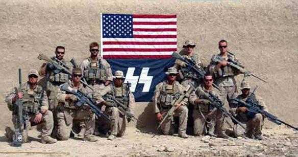 Soldados profissionais nazi-americanos