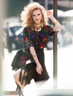 Thais Custódio para a revista Vogue (2013) Foto J R Duran