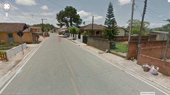 Casa do dcvitti no Google Street View da rua Modesto Vargas