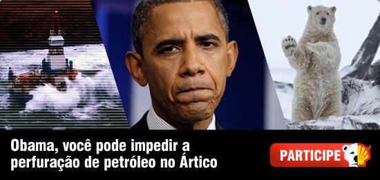 Obama, salve o Ártico!