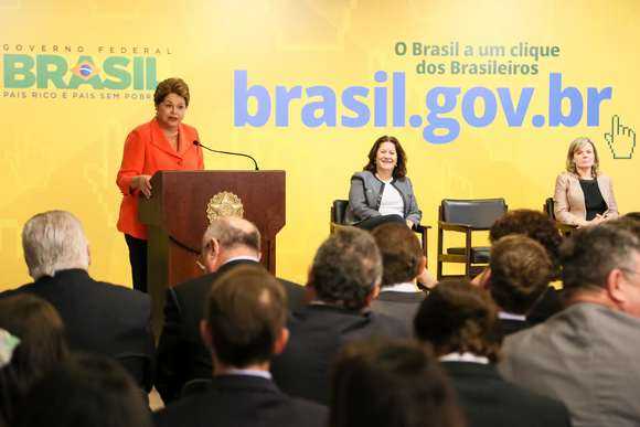 Queremos tornar o governo cada vez mais digital e aberto, afirma Dilma ao lançar o novo Portal Brasil