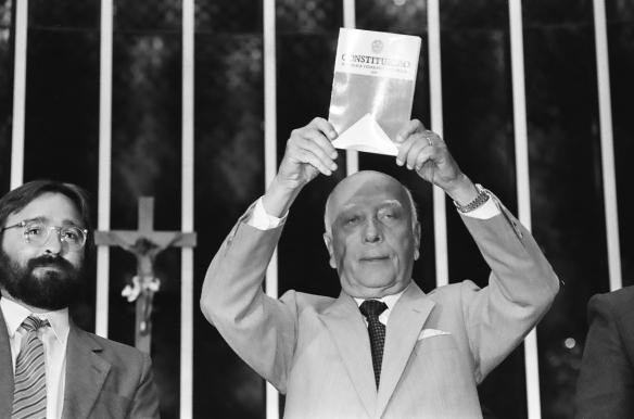 Ulysses Guimarães e a Constituição Federal de 1988