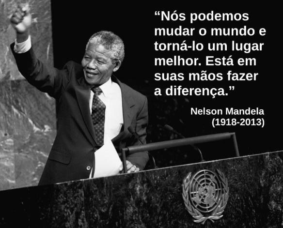 Declaração de Ban Ki-moon, secretário-geral da ONU sobre a morte de Mandela