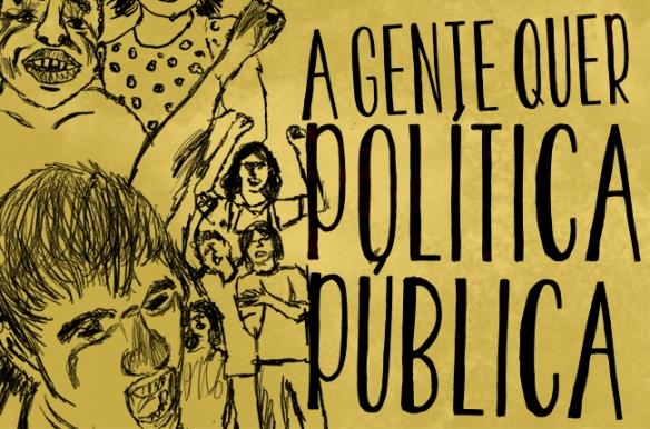 A juventude brasileira precisa de política pública. Arte: Rafael Werkema/CFESS