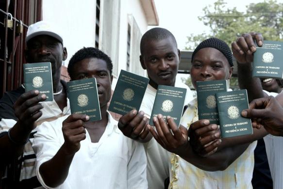 Haitianos são escravizados no Brasil