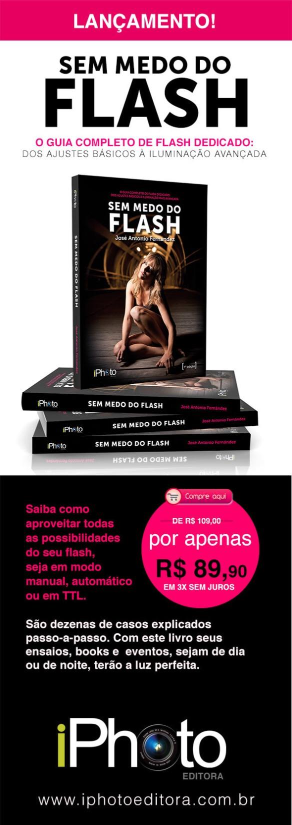 Lnaçamento iPhoto Editora - Saiba como aproveitar todas as possibilidades do seu flash