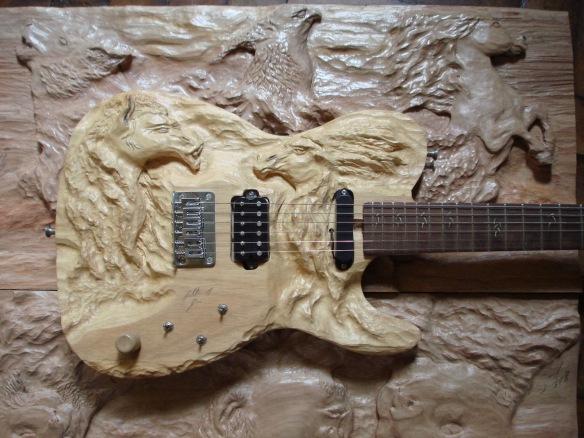 Guitarra artesanal Luthier Arte em esculturas de madeira, Dialison Cleber Vitti, Dialison Cleber, Dialison Vitti, Dialison, Cleber Vitti, Vitti, #DialisonCleberVitti, @dcvitti, dcvitti, #blogdodcvitti, Ilhota,