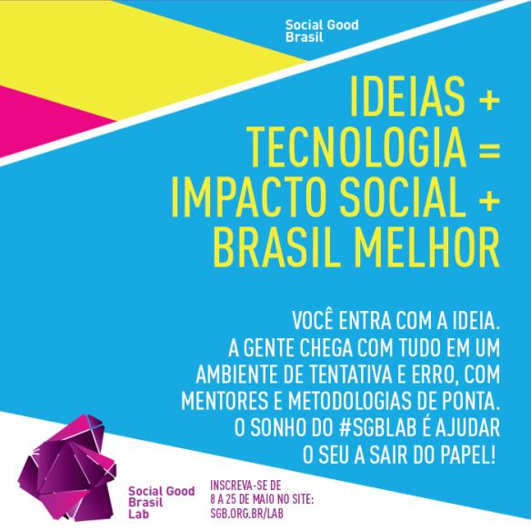 Social Good Brasil Lab, Dialison Cleber Vitti, Dialison Cleber, Dialison Vitti, Dialison, Cleber Vitti, Vitti, #DialisonCleberVitti, @dcvitti, dcvitti, #blogdodcvitti, Ilhota, Social Good Brasil