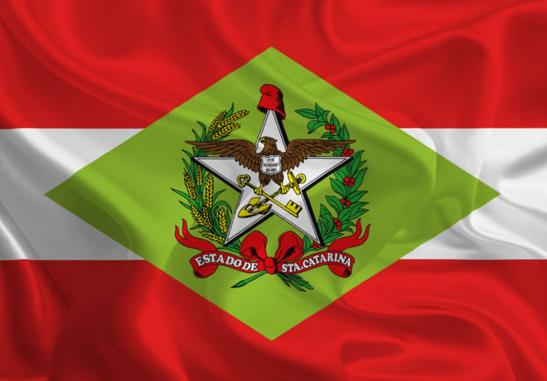 Bandeira de Santa Catarina, Dialison Cleber Vitti, Dialison Cleber, Dialison Vitti, Dialison, Cleber Vitti, Vitti, #DialisonCleberVitti, @dcvitti, dcvitti, #blogdodcvitti, Ilhota,