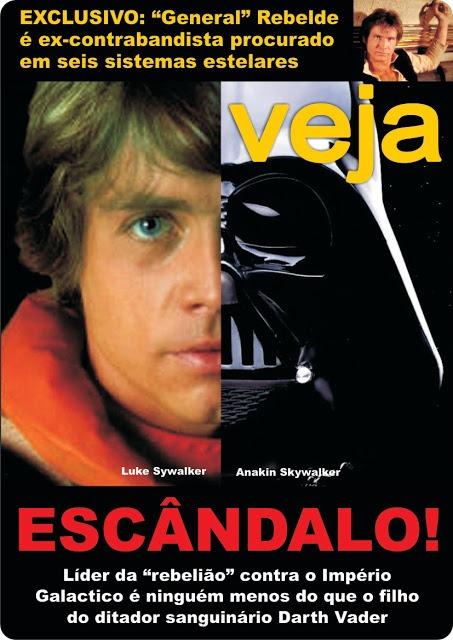 Se a imprensa brasileira cobrisse Star Wars, Dialison Cleber Vitti, Dialison Cleber, Dialison Vitti, Dialison, Cleber Vitti, Vitti, #DialisonCleberVitti, @dcvitti, dcvitti, #blogdodcvitti, Ilhota, 2014