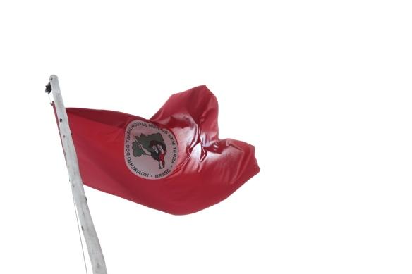 Bandeira do MST, Dialison Cleber Vitti, Dialison Cleber, Dialison Vitti, Dialison, Cleber Vitti, Vitti, #DialisonCleberVitti, @dcvitti, dcvitti, #blogdodcvitti, Ilhota, 2014, Newsletter, Feed