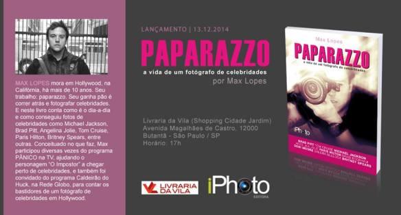 Lançamento do livro Paparazzo - a vida de um fotógrafo de celebridades, iphoto editora, altair hoppe, max lopes, Dialison Cleber Vitti, Dialison Cleber, Dialison Vitti, Dialison, Cleber Vitti, Vitti, #DialisonCleberVitti, @dcvitti, dcvitti, #blogdodcvitti, Ilhota, 2014, Newsletter, Feed