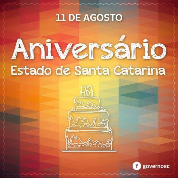Dia de Santa Catarina, Dialison Cleber Vitti, Dialison Cleber, Dialison Vitti, Dialison, Cleber Vitti, Vitti, #DialisonCleberVitti, @dcvitti, dcvitti, #blogdodcvitti, Ilhota, 2016, Newsletter, Feed