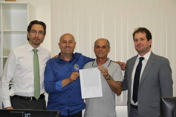 Candidatos a prefeito de Ilhota firmam acordo de paz