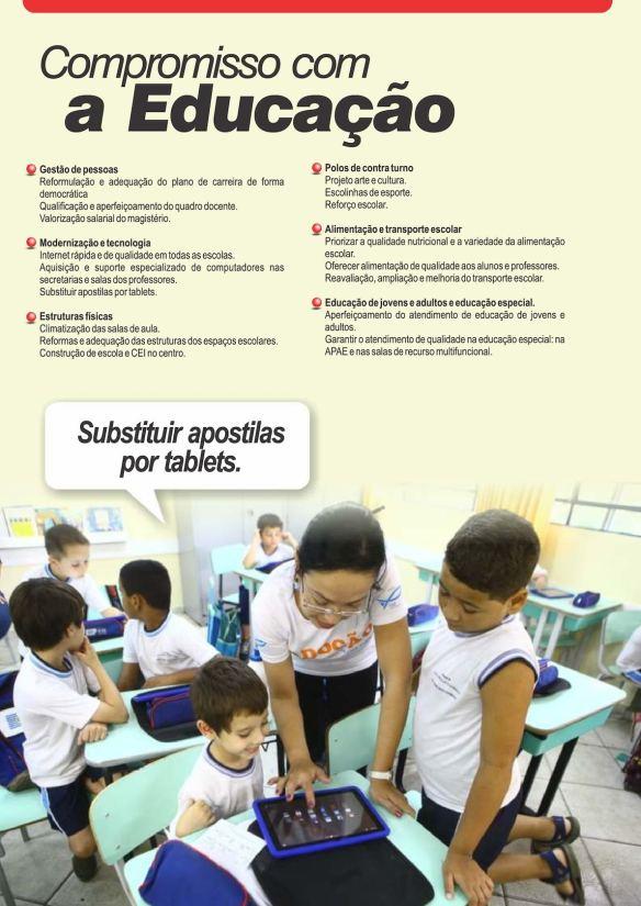 Plano de governo da coligação #CompromissoComOFuturo - Página08
