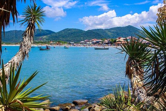 Praia do Pântano doSul em Florianópolis