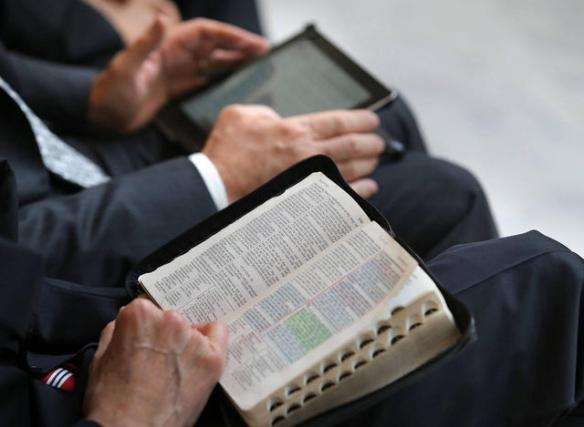 A leitura da Bíblia