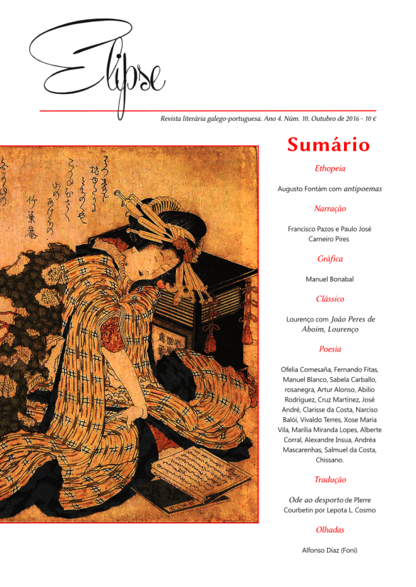 Capa da revista Elipse #10