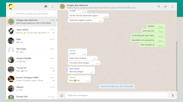 WhatsApp Web Dialison Cleber Vitti 47 9 9938 3519