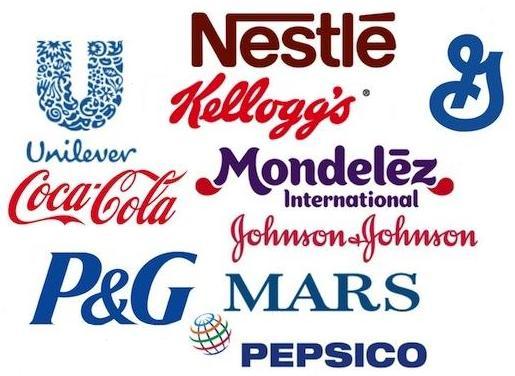 Dez multinacionais controlam o mercado mundial de alimentos