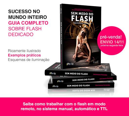 Livro ensina como dominar seu flash. Livro Flash, iPhoto Editora, Altair Hoppe