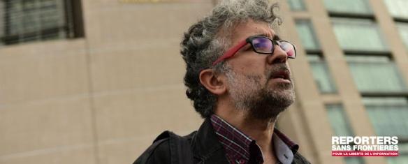 O julgamento de Erol, representante da RSF na Turquia - A sala do tribunal estava lotado