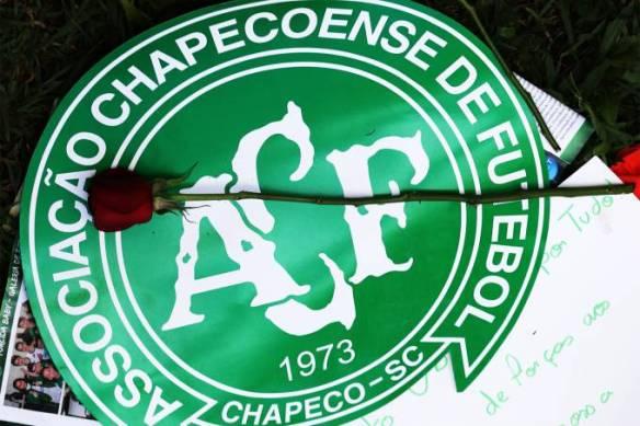 Chapecoense homenagens