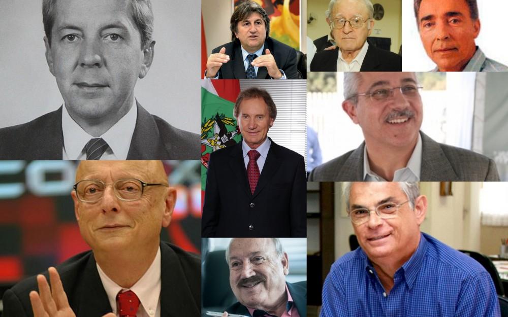 Governadores de Santa Catarina
