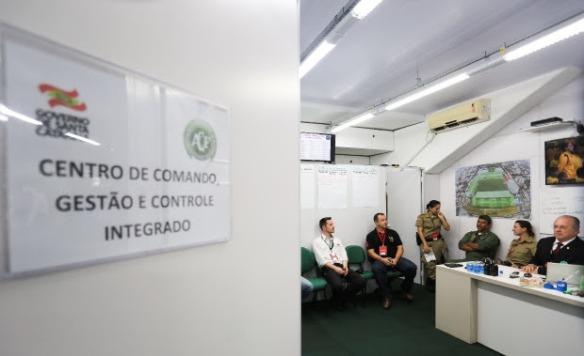 Governo do Estado instala gabinete de gestão na Arena Condá #blogdodcvitti